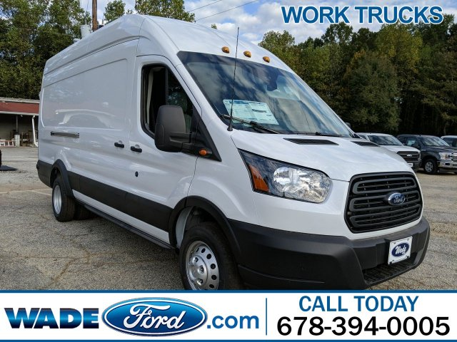 2019 Transit 350 HD High Roof DRW 4x2, Empty Cargo Van #KKB62188 - photo 1