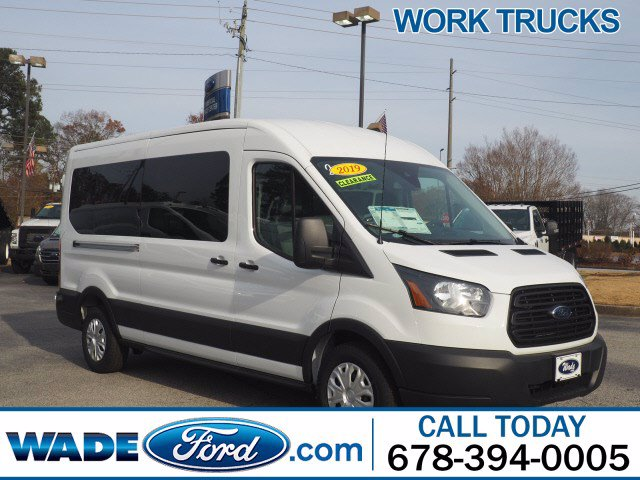 2019 Transit 350 Med Roof 4x2, Passenger Wagon #KKB85824 - photo 1