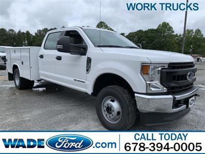 2020 Ford F-350 Crew Cab DRW 4x4, Reading Classic II Steel Service Body #LED12402 - photo 1