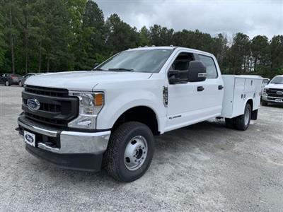 2020 Ford F-350 Crew Cab DRW 4x4, Reading Classic II Steel Service Body #LED12402 - photo 3