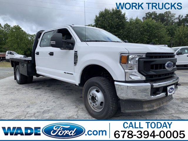2020 Ford F-350 Crew Cab DRW 4x4, Knapheide PGNB Gooseneck Platform Body #LED12733 - photo 1