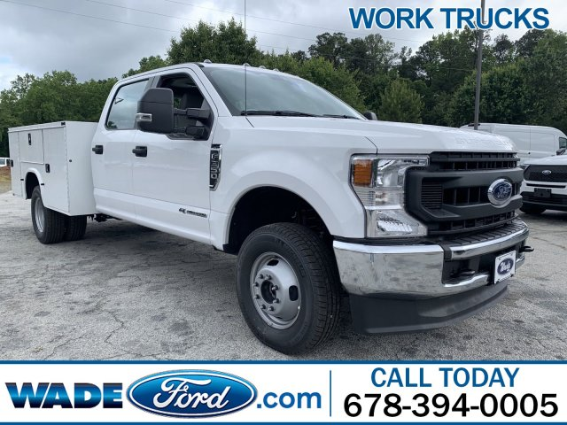 2020 Ford F-350 Crew Cab DRW 4x4, Knapheide Steel Service Body #LED12734 - photo 1