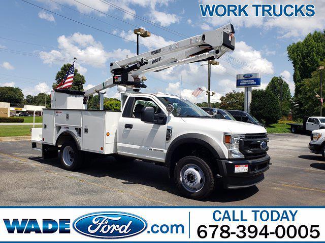 2021 Ford F-550 Regular Cab DRW 4x4, Service Body #MDA05452 - photo 1