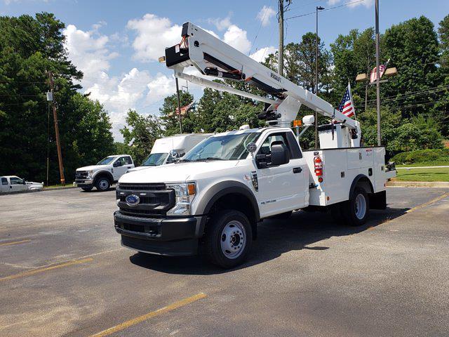 2021 Ford F-550 Regular Cab DRW 4x4, Service Body #MDA05452 - photo 3