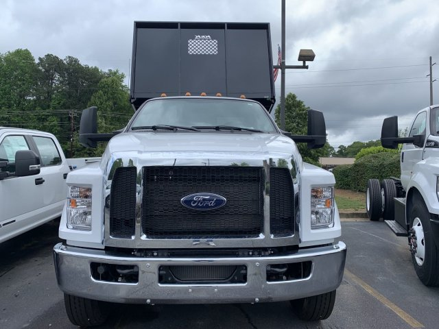 2021 Ford F-750 Regular Cab DRW 4x2, K&K Manufacturing Platform Body #MDF00115 - photo 6
