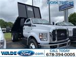 2021 Ford F-750 Regular Cab DRW 4x2, K&K Manufacturing Platform Body #MDF00115 - photo 1