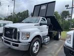 2021 Ford F-750 Regular Cab DRW 4x2, K&K Manufacturing Platform Body #MDF00115 - photo 3