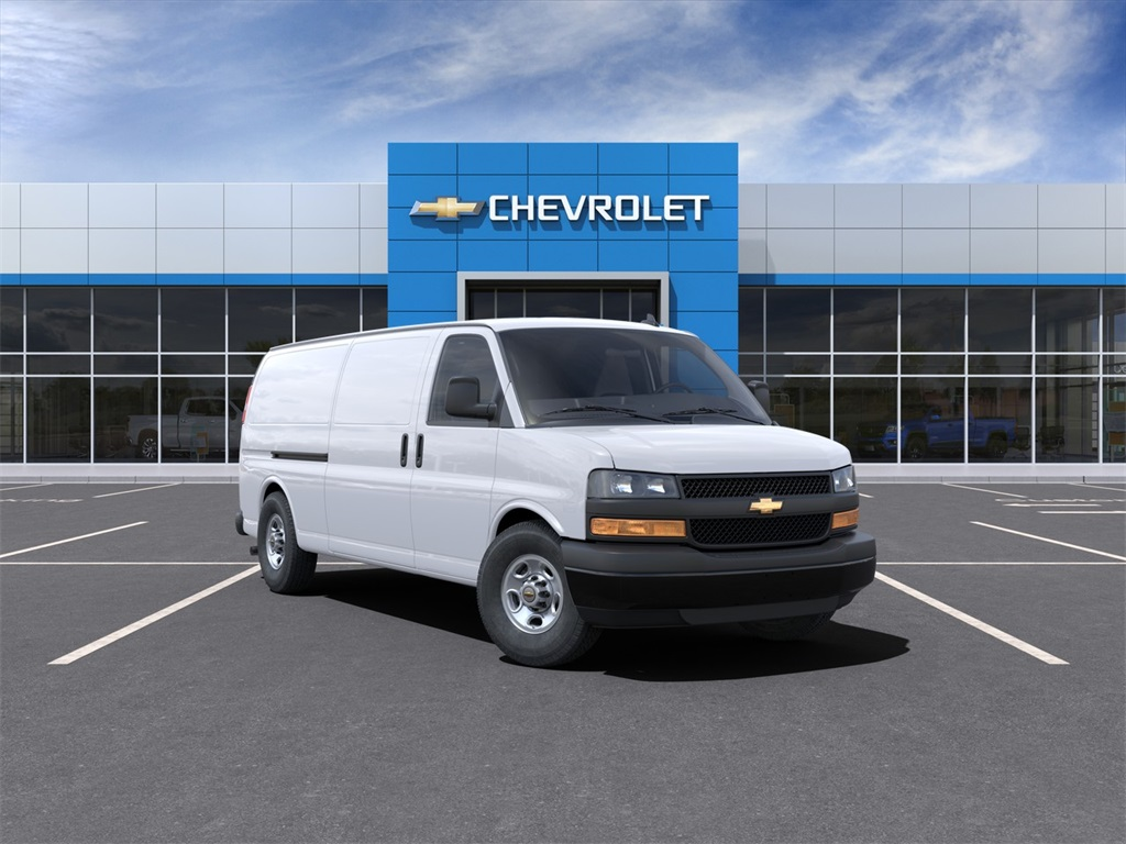 2021 Chevrolet Express 3500 4x2, Adrian Steel Upfitted Cargo Van #M1162334 - photo 1