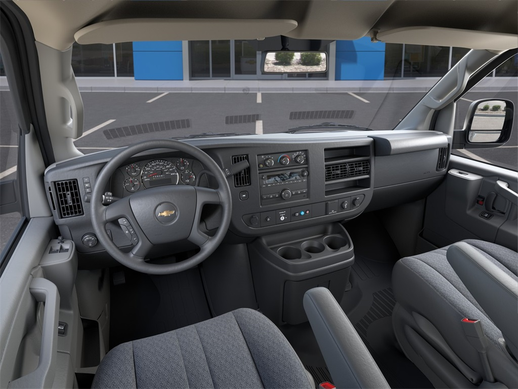 2021 Chevrolet Express 3500 4x2, Adrian Steel Commercial Shelving Upfitted Cargo Van #M1162334 - photo 12