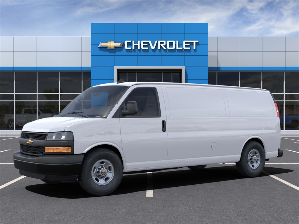 2021 Chevrolet Express 3500 4x2, Adrian Steel Commercial Shelving Upfitted Cargo Van #M1162334 - photo 3