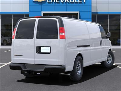 2021 Chevrolet Express 3500 4x2, Adrian Steel Commercial Shelving Upfitted Cargo Van #M1162334 - photo 2