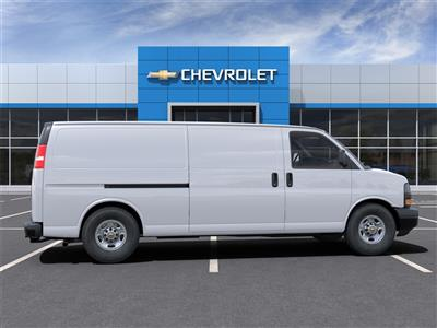 2021 Chevrolet Express 3500 4x2, Adrian Steel Commercial Shelving Upfitted Cargo Van #M1162334 - photo 5