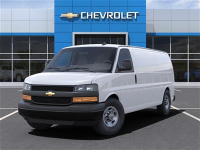 2021 Chevrolet Express 3500 4x2, Adrian Steel Commercial Shelving Upfitted Cargo Van #M1162334 - photo 6