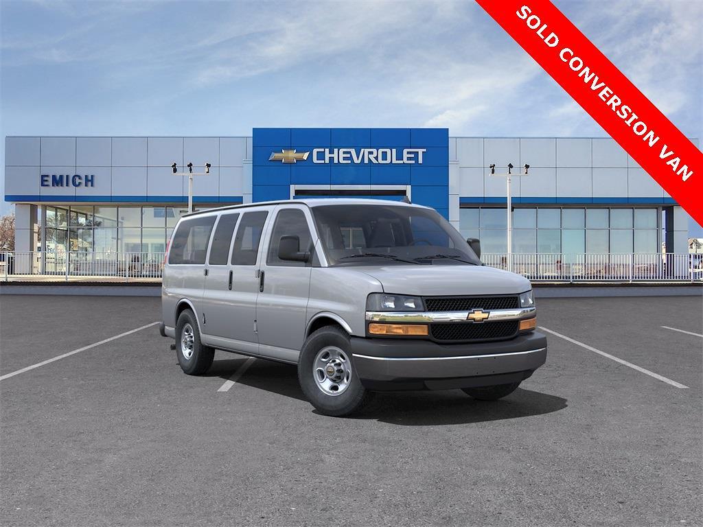 2021 Chevrolet Express 2500 4x2, Passenger Wagon #M1267804 - photo 1