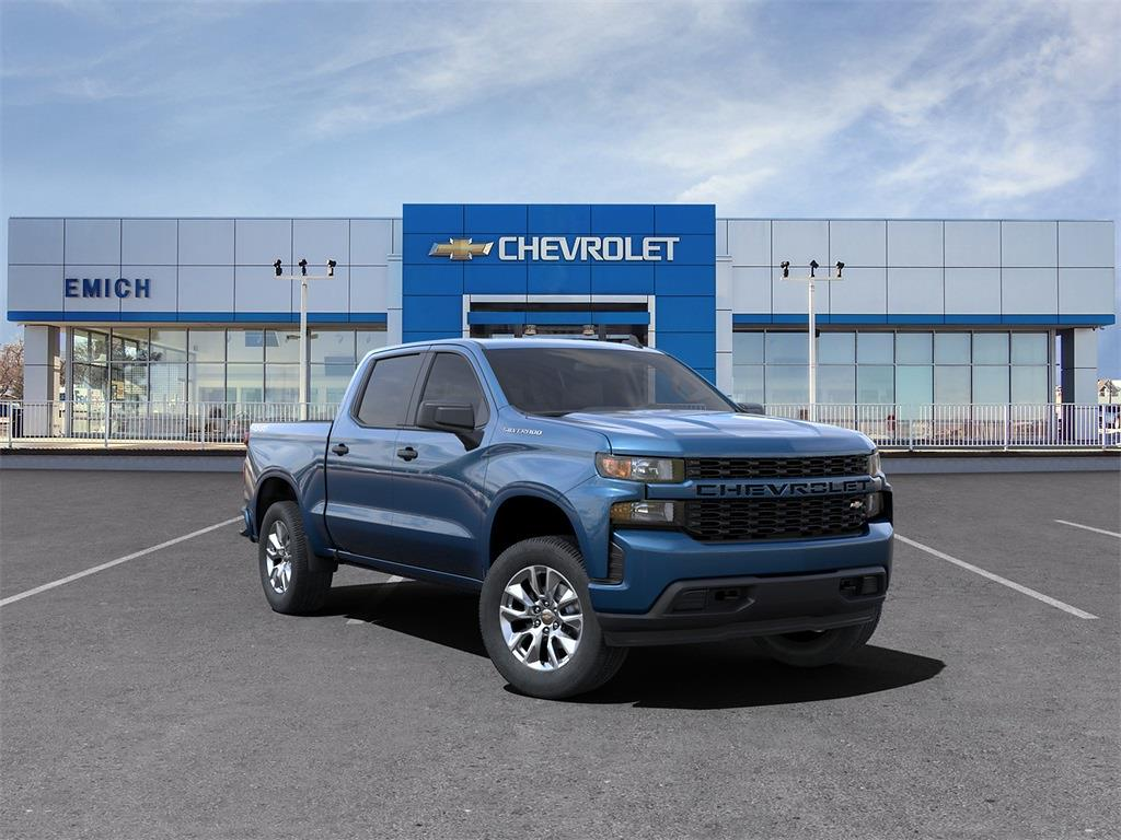 2021 Chevrolet Silverado 1500 Crew Cab 4x4, Pickup #MZ234663 - photo 1