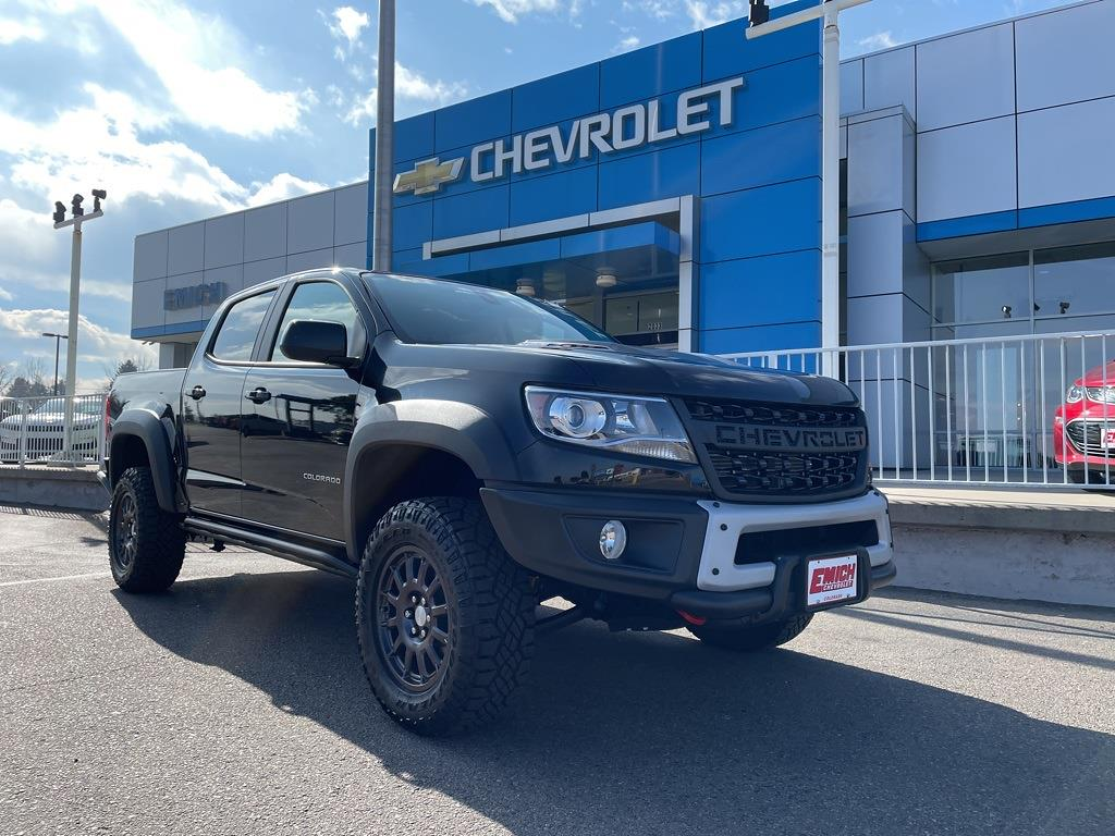 2021 Chevrolet Colorado Crew Cab 4x4, Pickup #P100090 - photo 1
