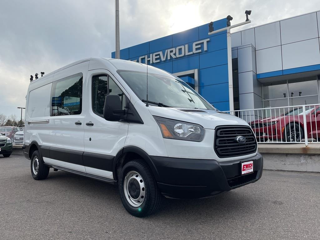2019 Ford Transit 250 Med Roof 4x2, Empty Cargo Van #PB66565 - photo 1