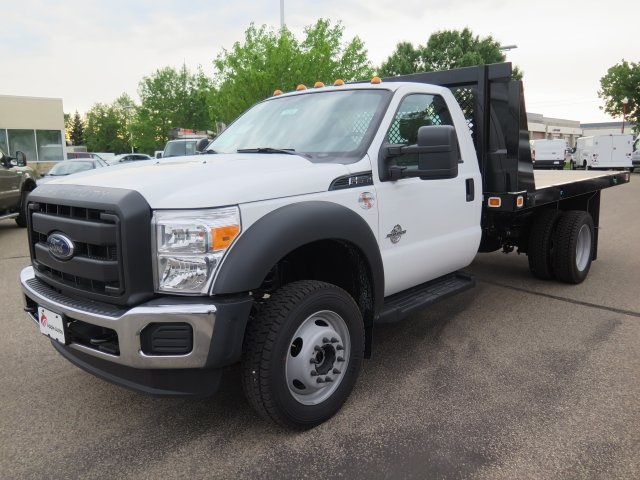 2016 F-550 Regular Cab DRW 4x4, Knapheide Platform Body #71254 - photo 4