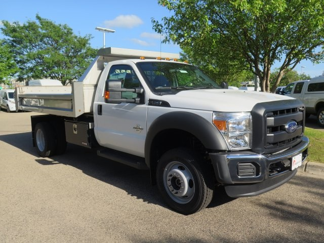2016 F-550 Regular Cab DRW 4x4, Aspen Equipment Contractor Body #71541 - photo 3