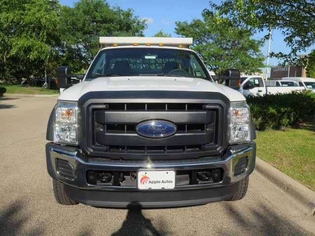 2016 F-550 Regular Cab DRW 4x4, Aspen Equipment Contractor Body #71541 - photo 4