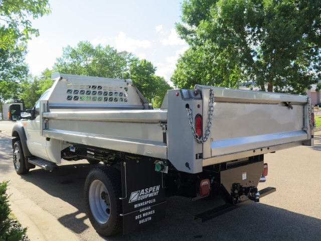 2016 F-550 Regular Cab DRW 4x4, Aspen Equipment Contractor Body #71541 - photo 2
