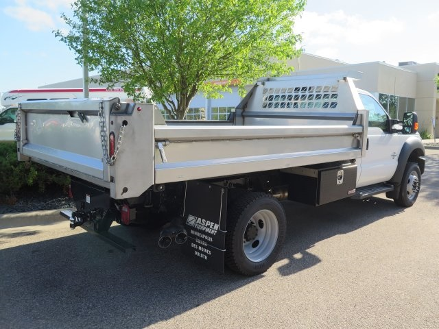 2016 F-550 Regular Cab DRW 4x4, Aspen Equipment Contractor Body #71541 - photo 6