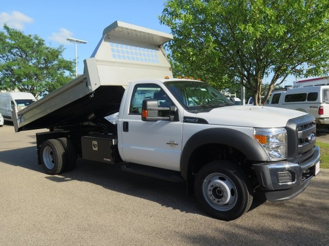 2016 F-550 Regular Cab DRW 4x4, Aspen Equipment Contractor Body #71541 - photo 8