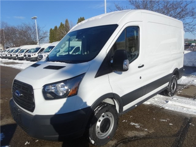 2018 Transit 250 Med Roof 4x2,  Empty Cargo Van #75945 - photo 4