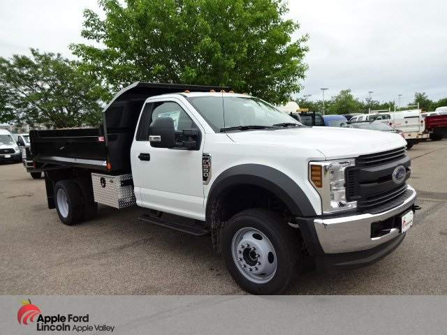 2018 F-550 Regular Cab DRW 4x4,  Monroe MTE-Zee Dump Dump Body #76804 - photo 1