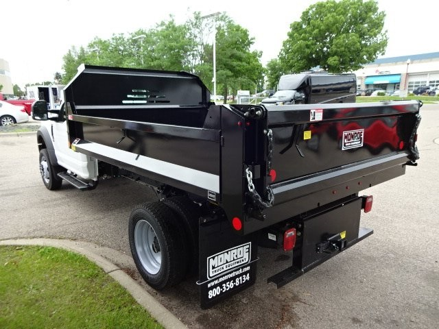 2018 F-550 Regular Cab DRW 4x4,  Monroe MTE-Zee Dump Dump Body #76804 - photo 5