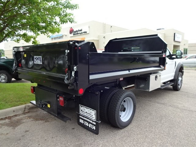 2018 F-550 Regular Cab DRW 4x4,  Monroe MTE-Zee Dump Dump Body #76804 - photo 2