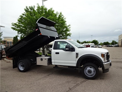 2018 F-550 Regular Cab DRW 4x4,  Monroe MTE-Zee Dump Dump Body #76804 - photo 14
