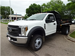 2018 F-550 Regular Cab DRW 4x4,  Monroe MTE-Zee Dump Dump Body #76804 - photo 4