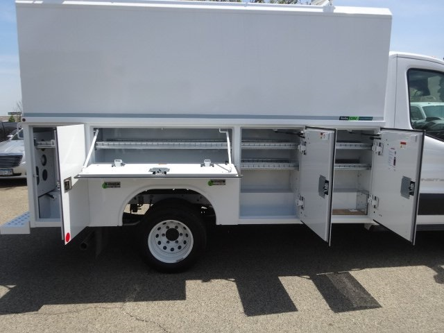 2018 Transit 350 HD DRW 4x2,  Reading Aluminum CSV Service Utility Van #76828 - photo 11