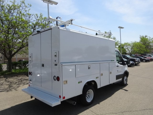 2018 Transit 350 HD DRW 4x2,  Reading Aluminum CSV Service Utility Van #76828 - photo 2