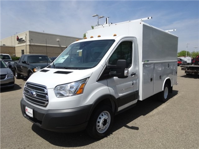 2018 Transit 350 HD DRW 4x2,  Reading Aluminum CSV Service Utility Van #76828 - photo 4