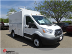 2018 Transit 350 HD DRW 4x2,  Reading Aluminum CSV Service Utility Van #76828 - photo 1