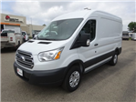 2018 Transit 250 Med Roof 4x2,  Empty Cargo Van #77257 - photo 4