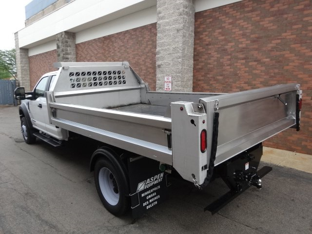2018 F-550 Super Cab DRW 4x4,  Aspen Equipment Dump Body #77622 - photo 5