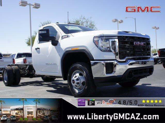 2020 GMC Sierra 3500 Regular Cab 4x4, Cab Chassis #G01087 - photo 1