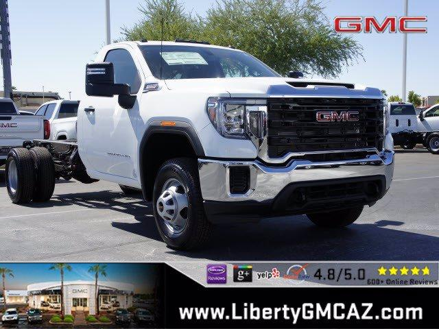 2020 GMC Sierra 3500 Regular Cab 4x4, Cab Chassis #G01090 - photo 1