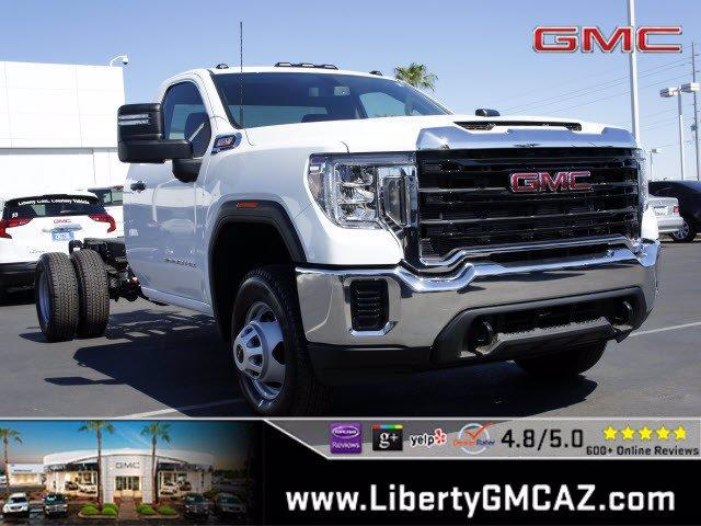2020 GMC Sierra 3500 Regular Cab 4x4, Cab Chassis #G01091 - photo 1