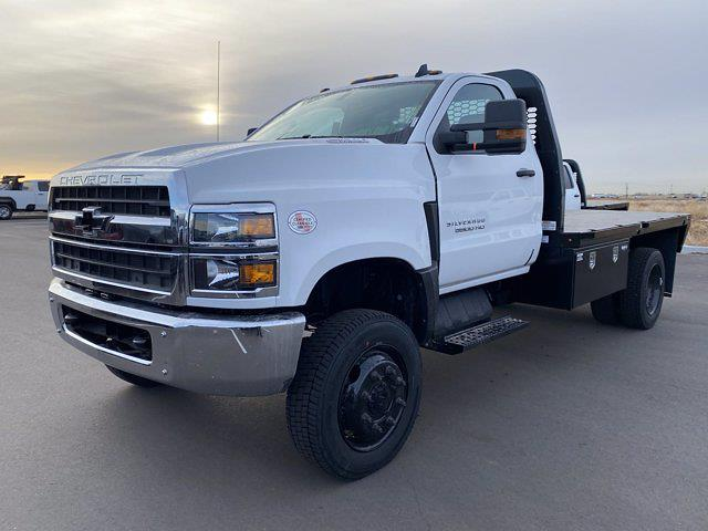 2020 Chevrolet Silverado 4500 Regular Cab DRW 4x4, Knapheide Platform Body #G081386 - photo 1