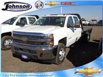 2016 Silverado 3500 Crew Cab 4x4, Hauler Body #G682139 - photo 1