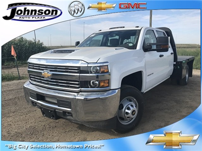 2017 Silverado 3500 Crew Cab 4x4 Platform Body #G716683 - photo 1