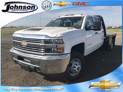 2017 Silverado 3500 Crew Cab 4x4 Platform Body #G717279 - photo 1