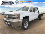 2017 Silverado 3500 Crew Cab 4x4 Platform Body #G717505 - photo 1