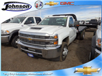 2017 Silverado 3500 Regular Cab 4x4, Platform Body #G723654 - photo 1