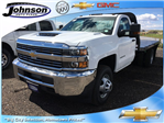 2017 Silverado 3500 Regular Cab 4x4, Platform Body #G783339 - photo 1