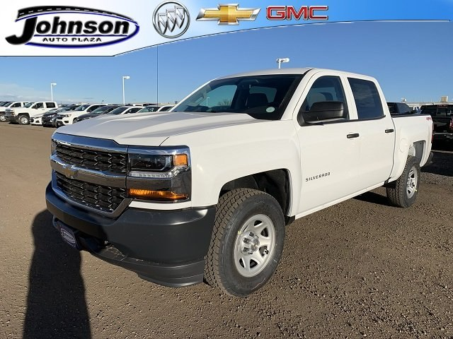 2018 Silverado 1500 Crew Cab 4x4,  Pickup #G814013 - photo 1